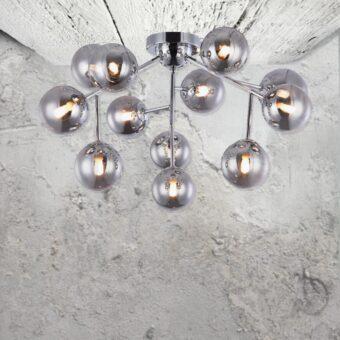 12 Globe Flush Mount Ceiling Lights