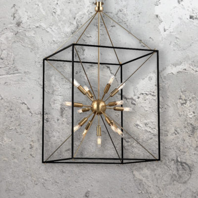 13 Light Sputnik Lantern Chandelier