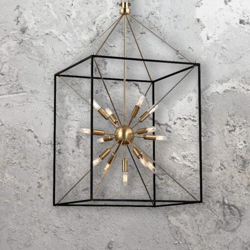 13 Light Sputnik Lantern Chandelier