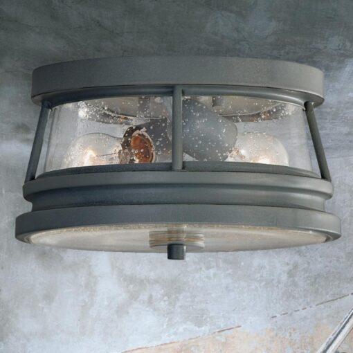 2 Light Outdoor Flush Fitting