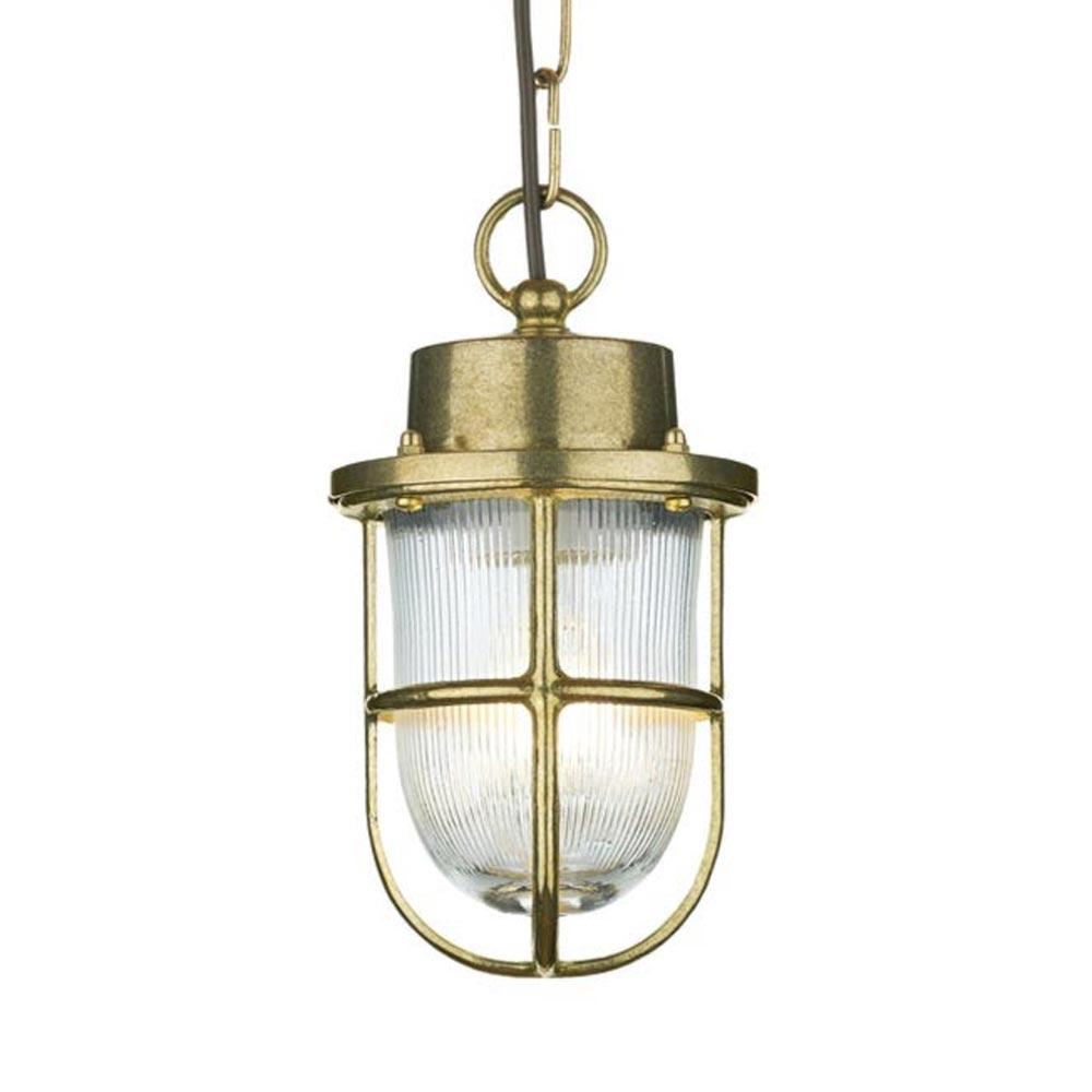 Outdoor Nautical Brass Pendant Light Outdoor
