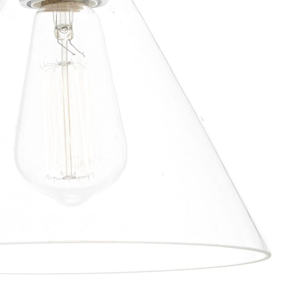 Clear Glass Cone Wall Light Wall Lights