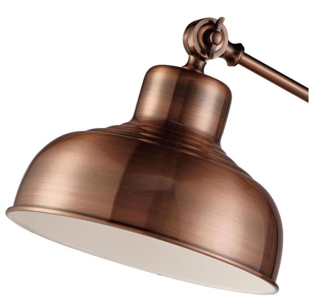 Antique Copper Industrial Floor Lamp Floor Lamps