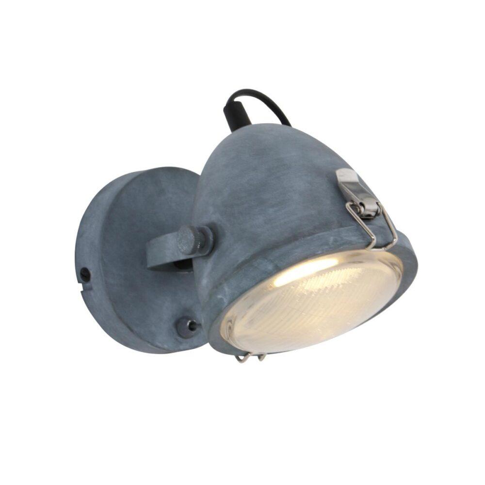 Single Industrial Grey Spotlight Spotlights