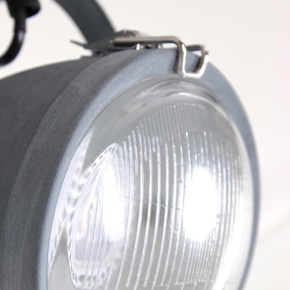Double Industrial Grey Spotlight Spotlights