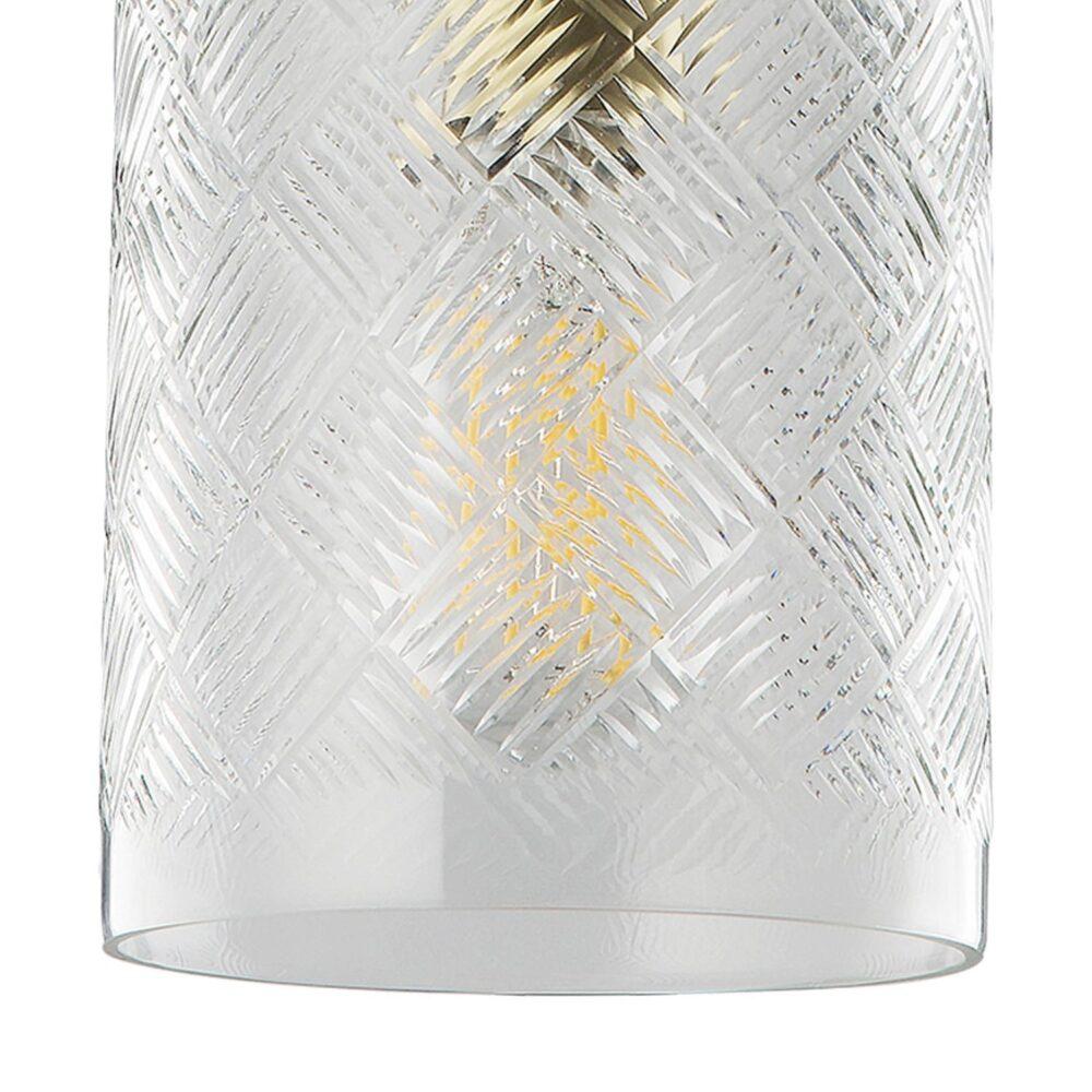 Cylinder Cut Glass Pendant Light Pendants