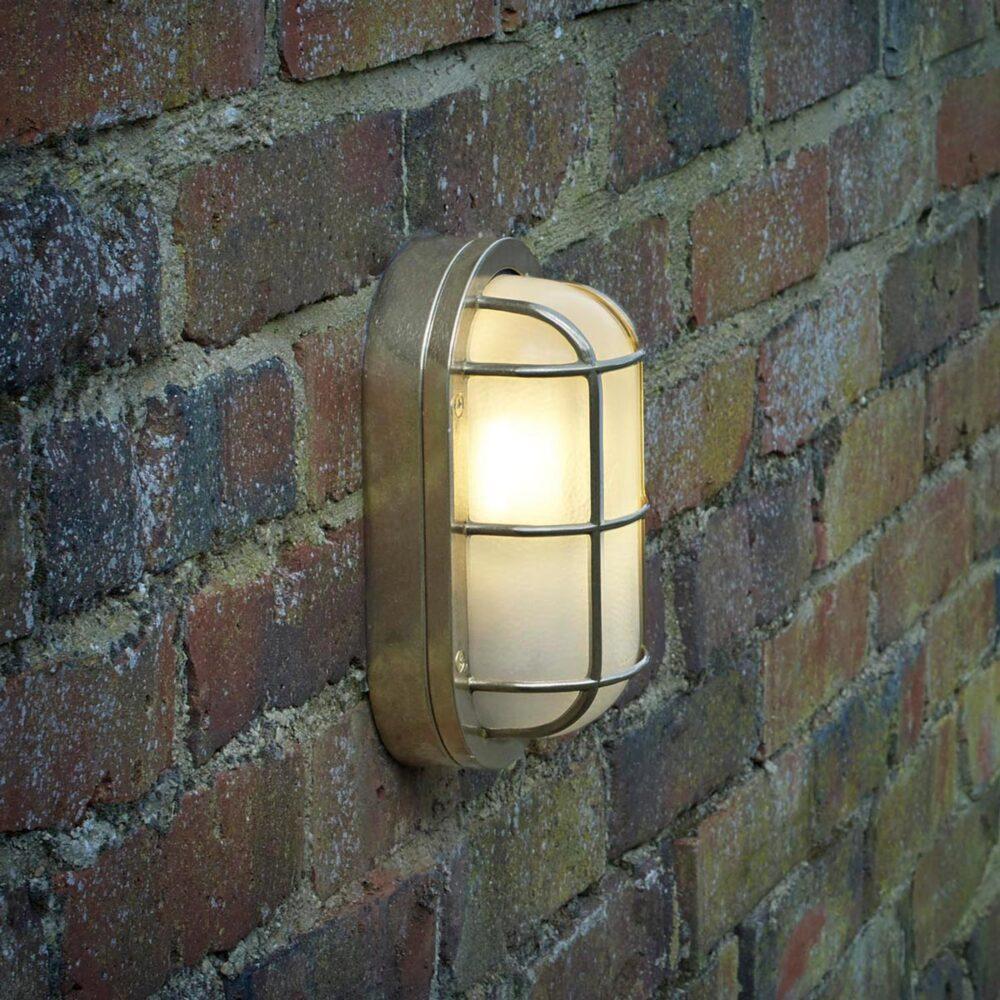 Solid Brass Bulkhead Light Bulkheads