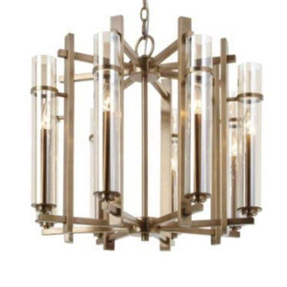 8 Light Antique Brass Chandelier Chandeliers