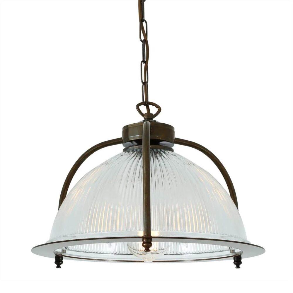 Antique Brass Industrial Spotlight Spotlights