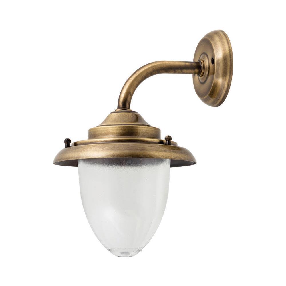 Antique Brass Wall Lantern Outdoor
