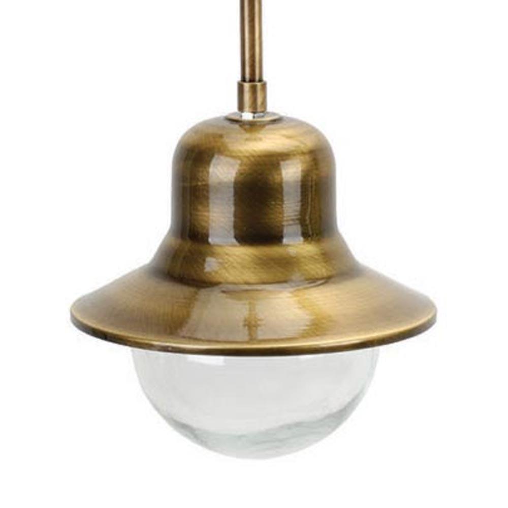 Exterior Brass Rod Pendant Light Pendants