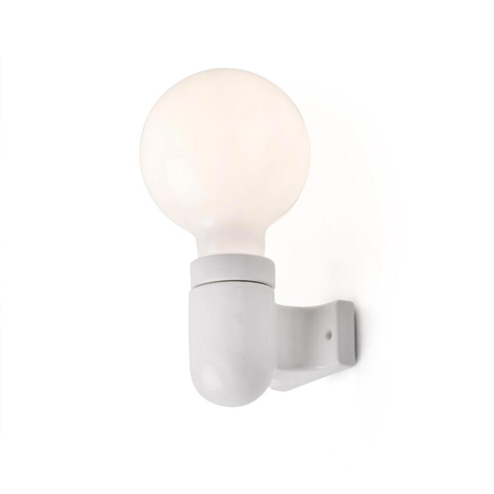 White Porcelain Wall Light Wall Lights