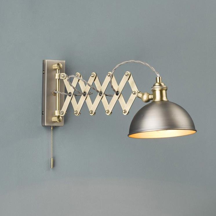 1 Light Antique Copper Matt Black Table Lamp Table Lamps
