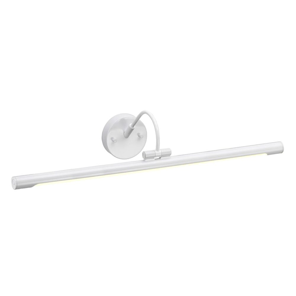 1 Light White Picture Light Picture & Poster Lights