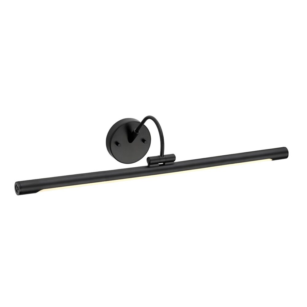 1 Light Black Picture Light Picture & Poster Lights