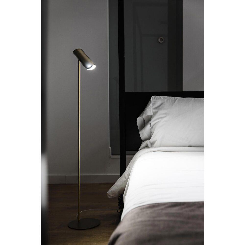 1 Light Bronze Floor Lamp Floor Lamps