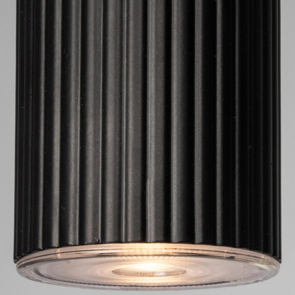 1 Light Matt Black Pendant Pendants