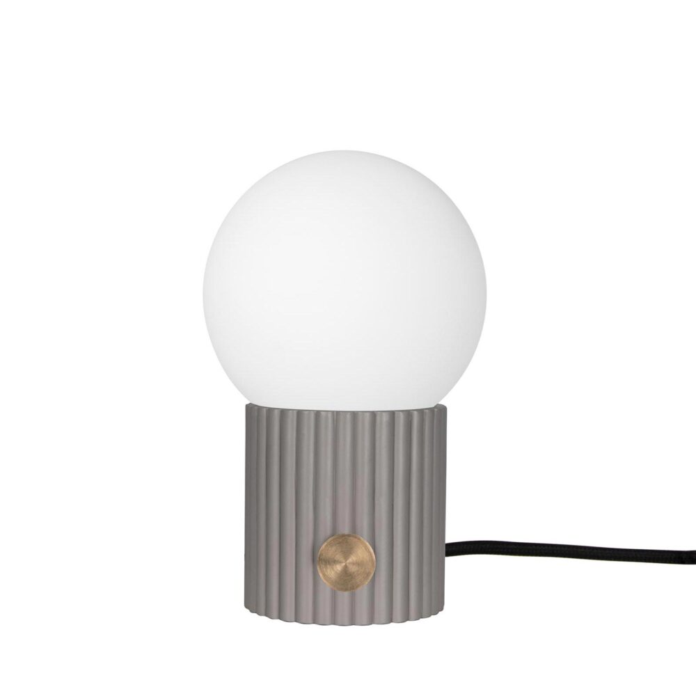 1 Light White Brass Opal Glass Table Lamp Table Lamps