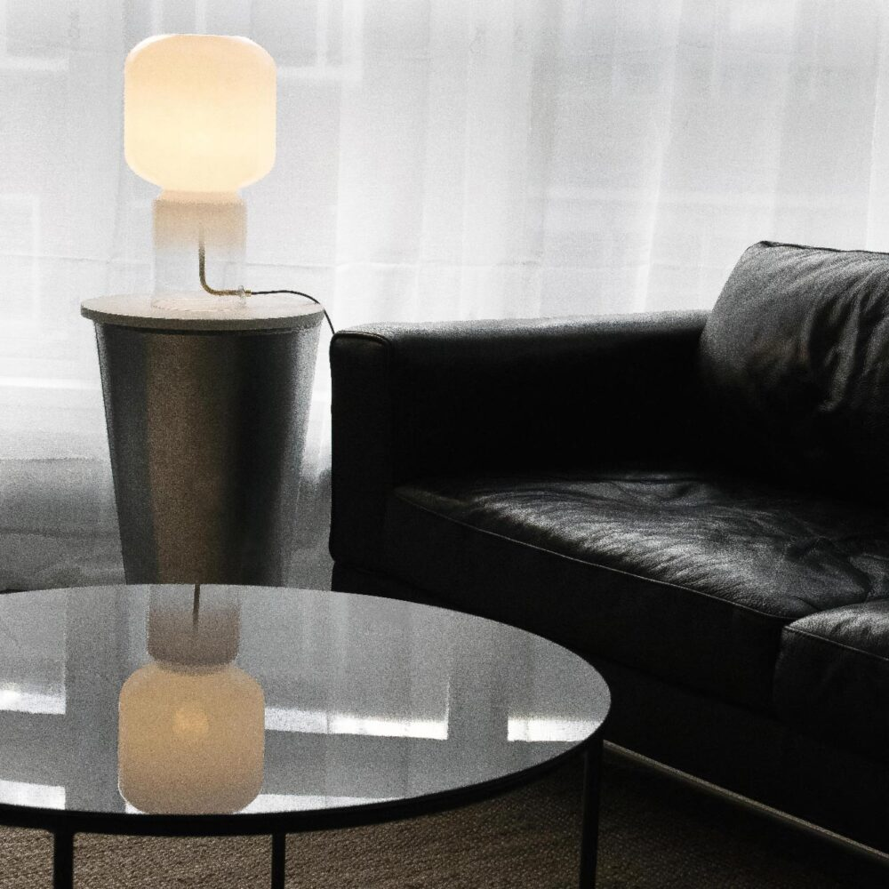 1 Light Opal Glass Table Lamp Table Lamps