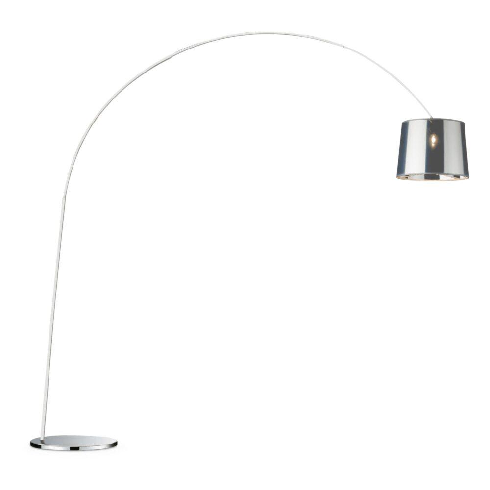 1 Light Chrome Floor Lamp Floor Lamps