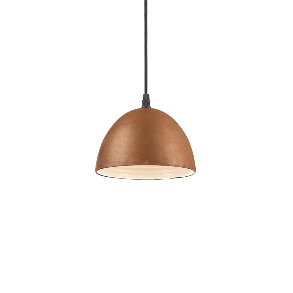 1 Light Rusted Enamel Pendants Pendants