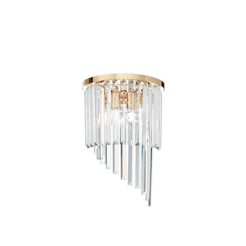 10 Light Gold Crystals Chandelier Chandeliers