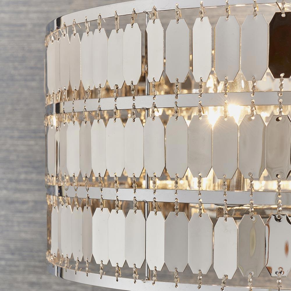 5 Light Polished Chrome Pendant Pendants