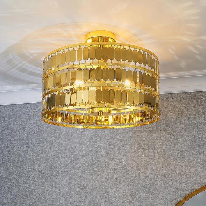 3 Light Gold Flush Flush
