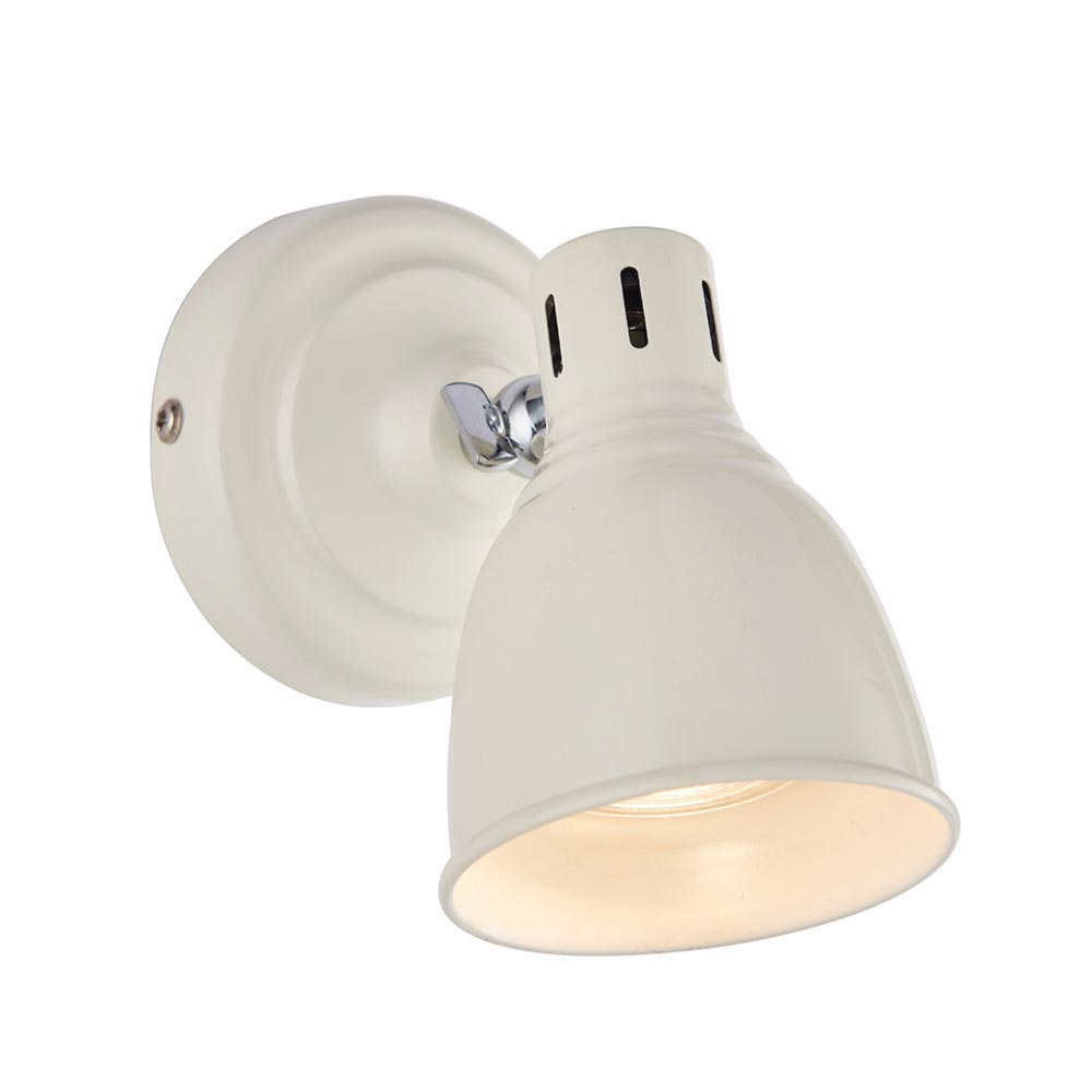 1 Light White Gloss White Spotlight Spotlights
