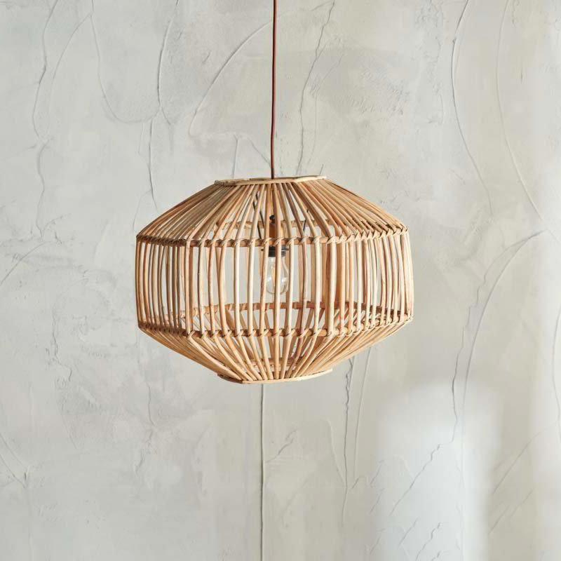 Light Natural Rattan Pendant Lampshade Pendants