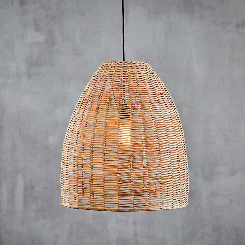 Brass Dome Pendant with Glass Diffuser Pendants