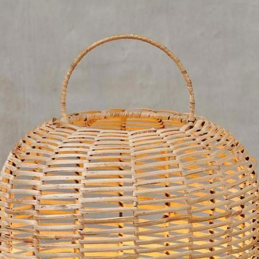 1 Light Natural Wood Floor Lamp Floor Lamps