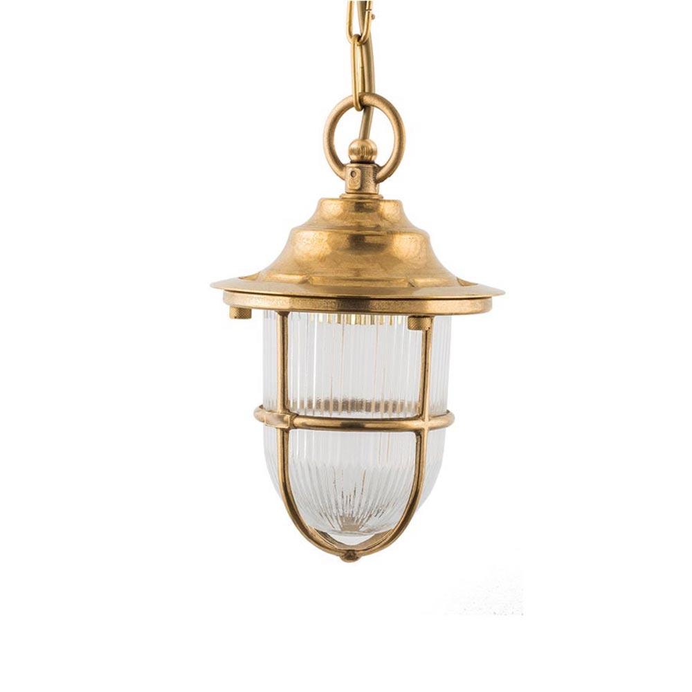 Natural Brass Outdoor Pendant Light Pendants