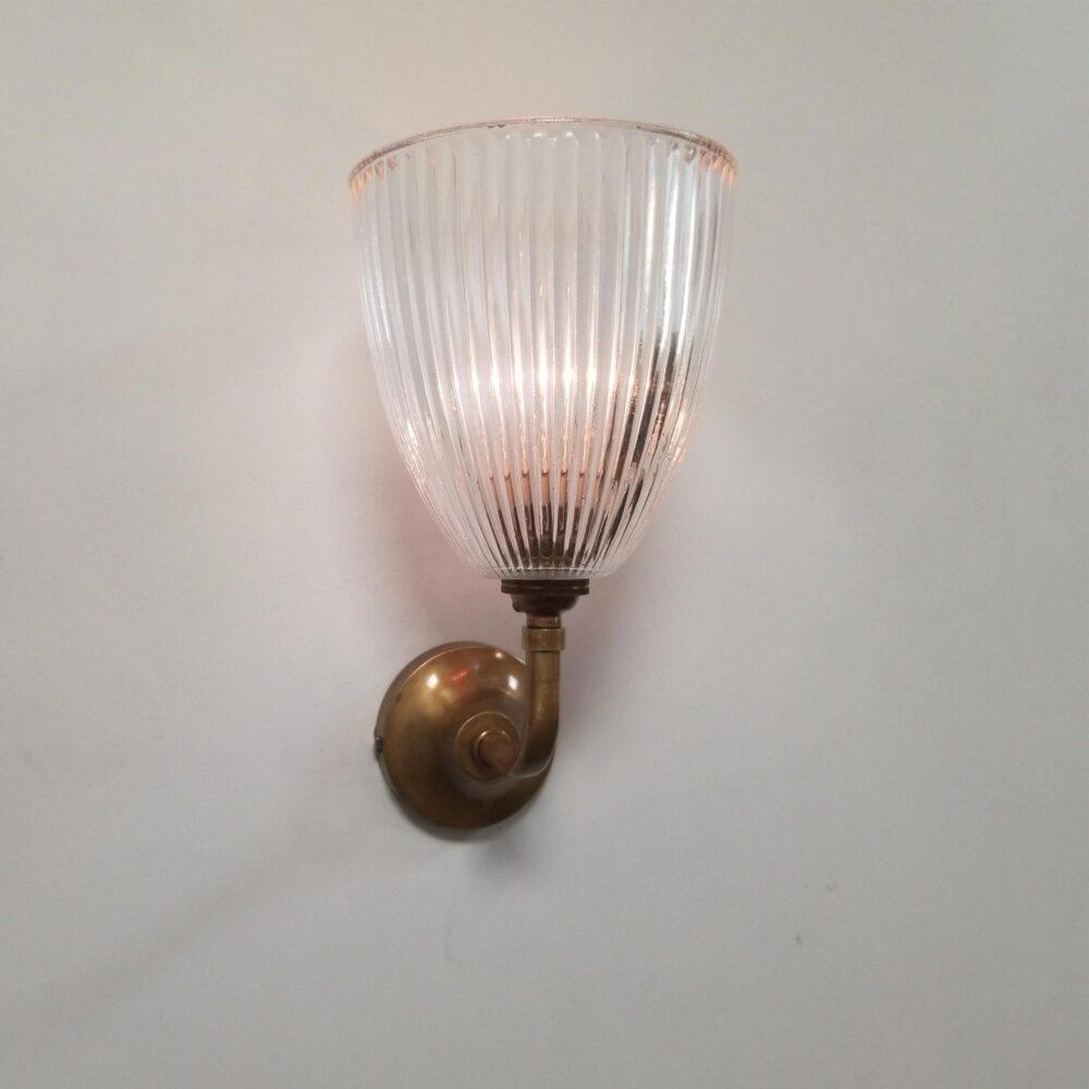 Small Prismatic Glass Wall Light Wall Lights