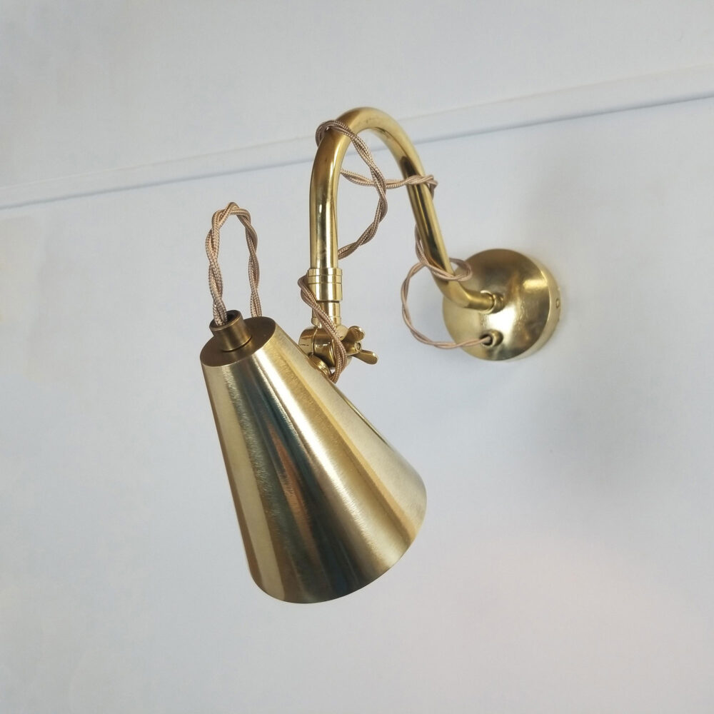 Swan Neck Brass Poster Light Picture & Poster Lights