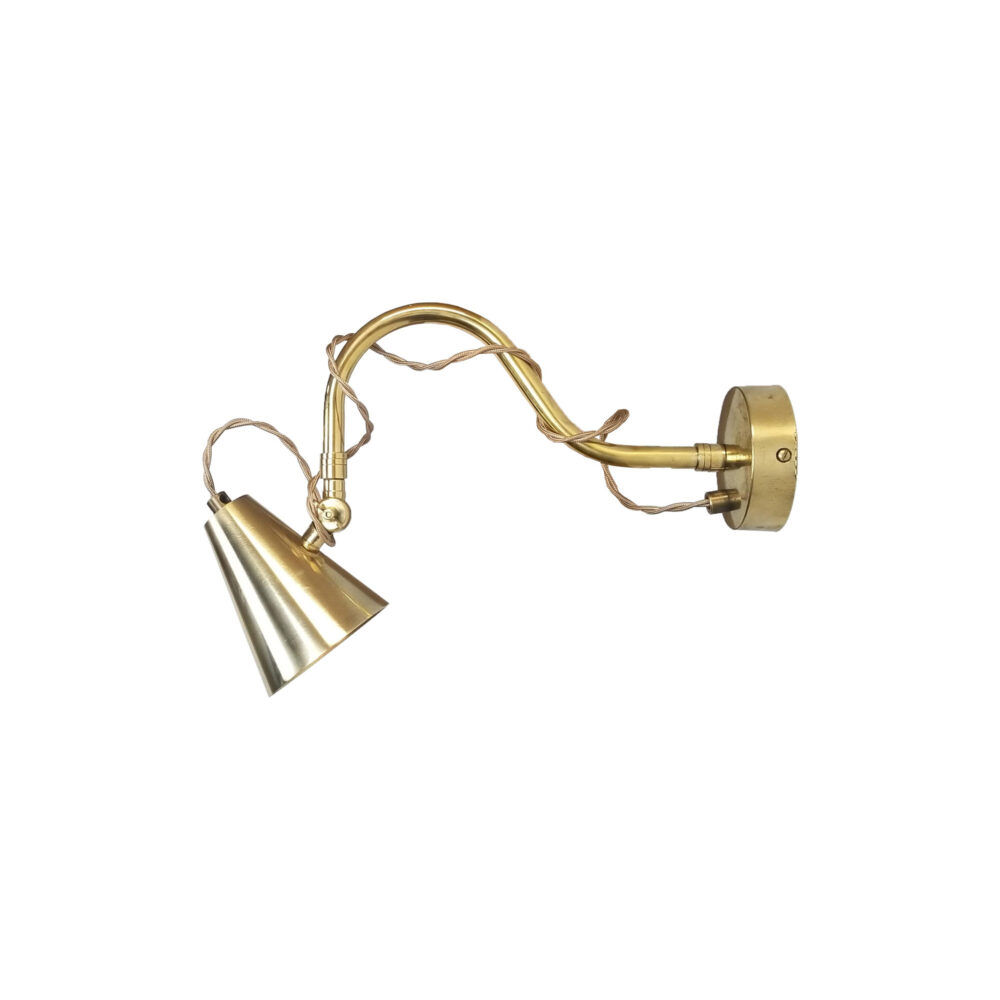 Cone Brass Poster Light with Flex Picture & Poster Lights