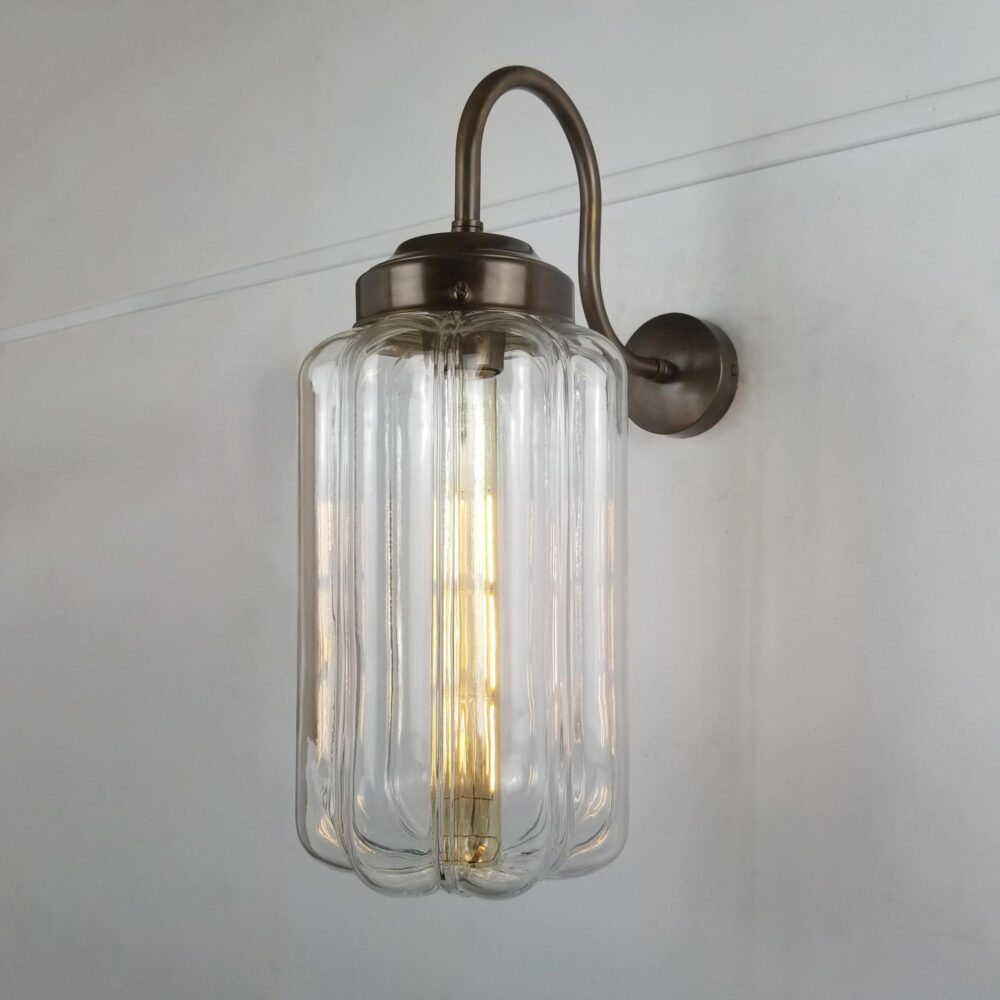 Brass Scallop Wall Light Wall Lights