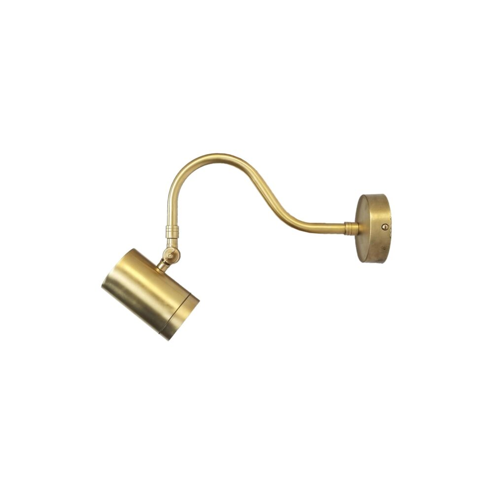 Adjustable Brass Poster Light with Cylinder Spot Picture & Poster Lights