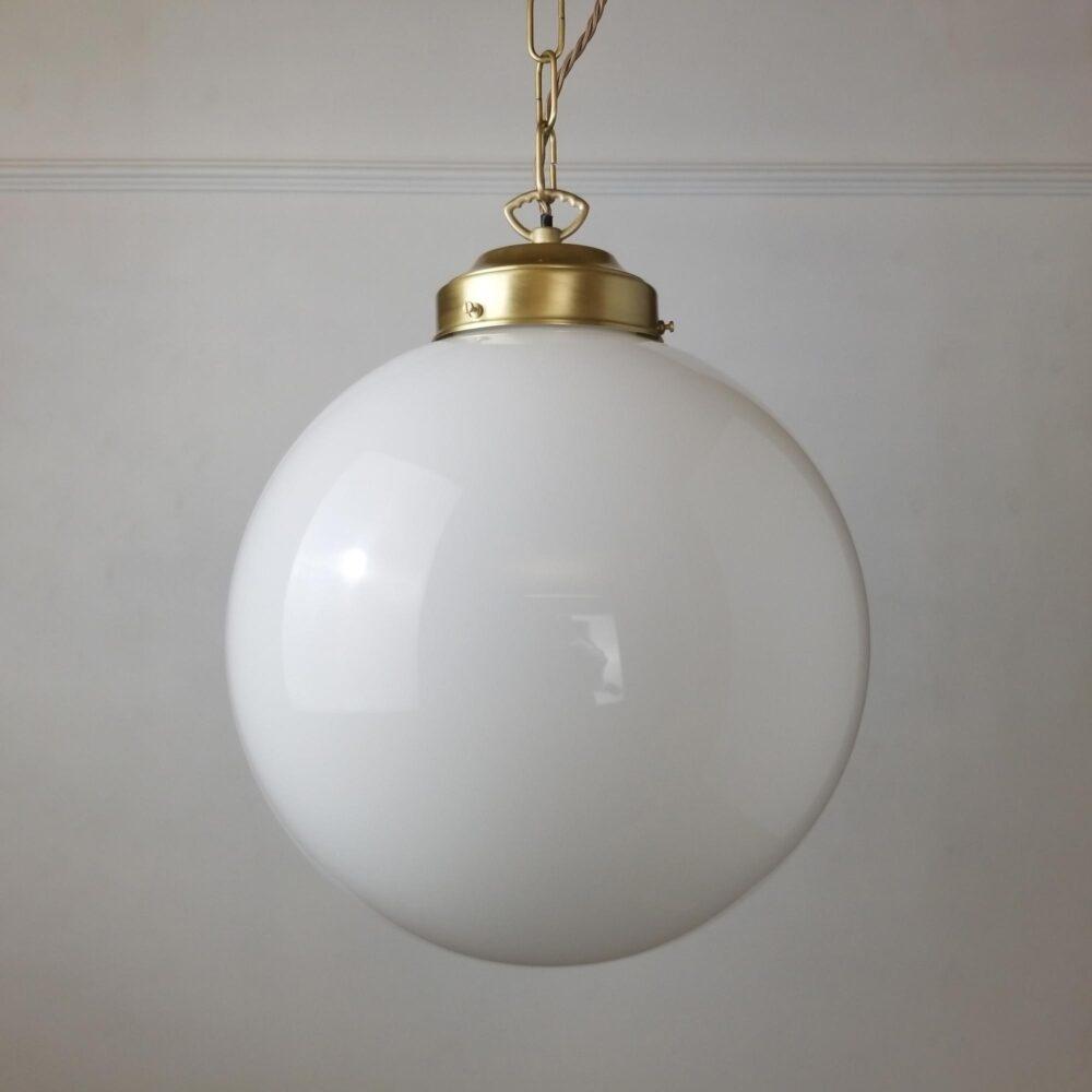 300mm Opal Globe Pendant Light Pendant Lights