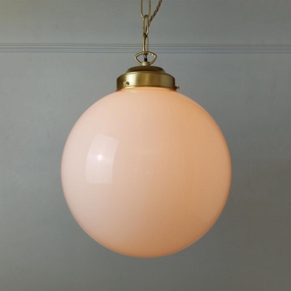 Distressed Brass Dish Pendant Light Pendant Lights