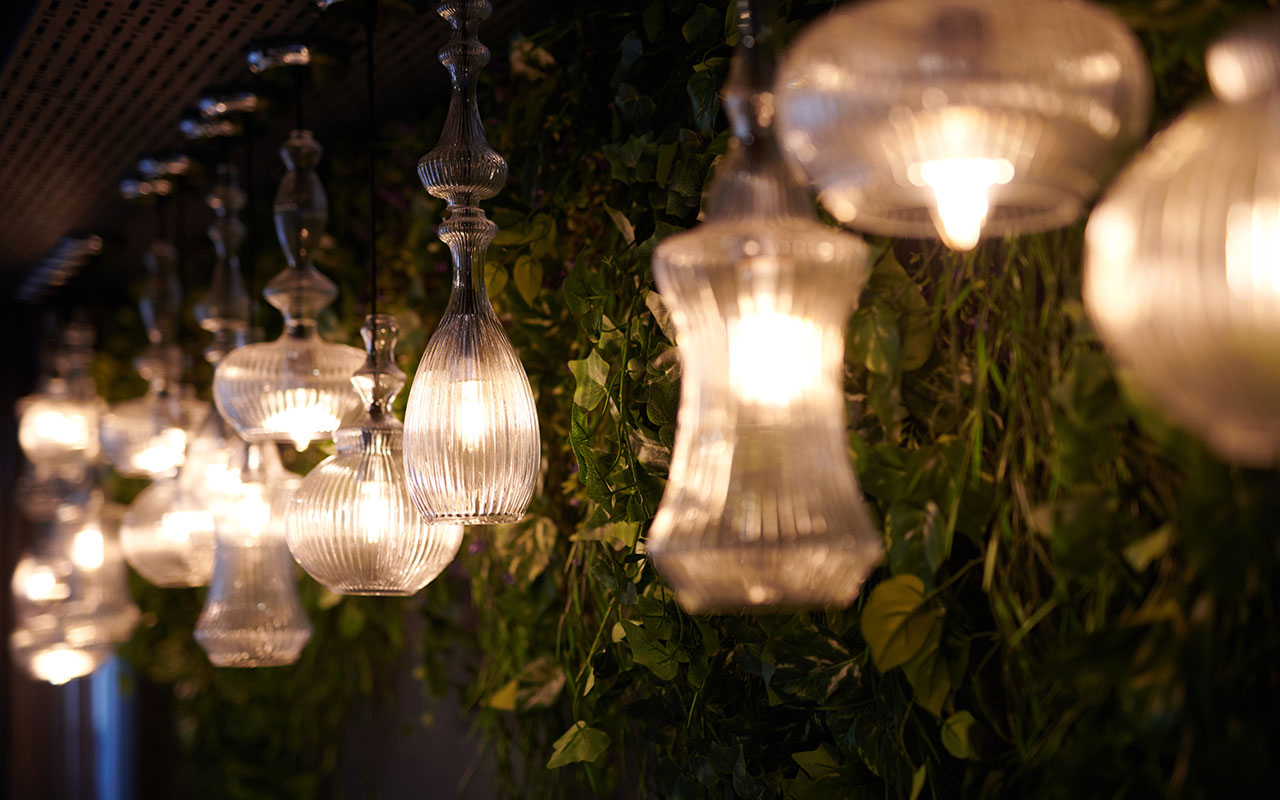 Malmaison Hotel Lighting Edinburgh
