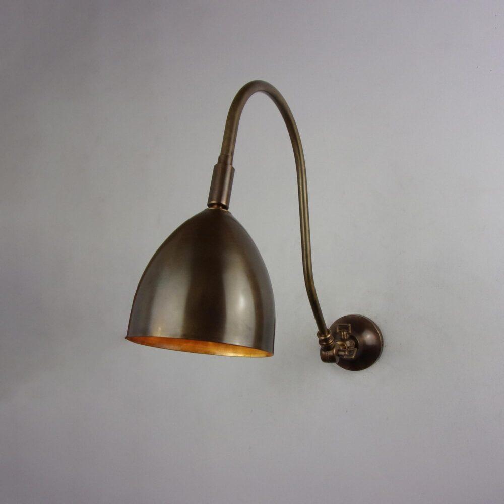Brass Glass Rod Wall Light Wall Lights