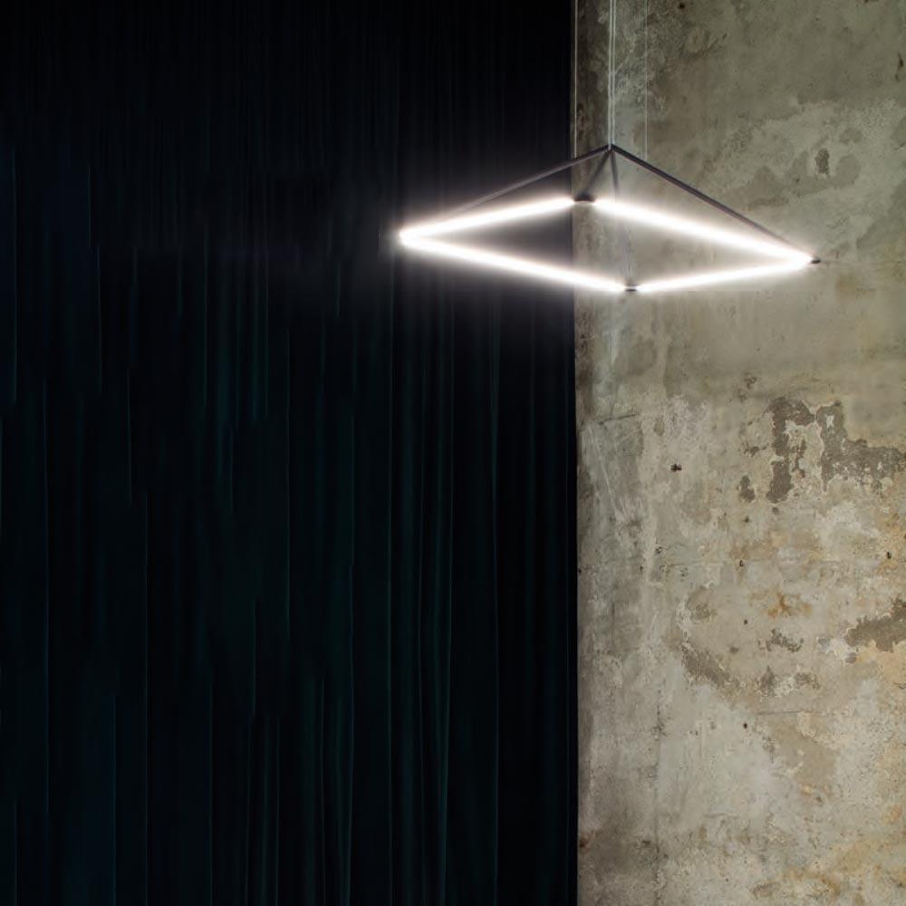 LED Suspended Pyramid Pendant CLB-00653 Pendants