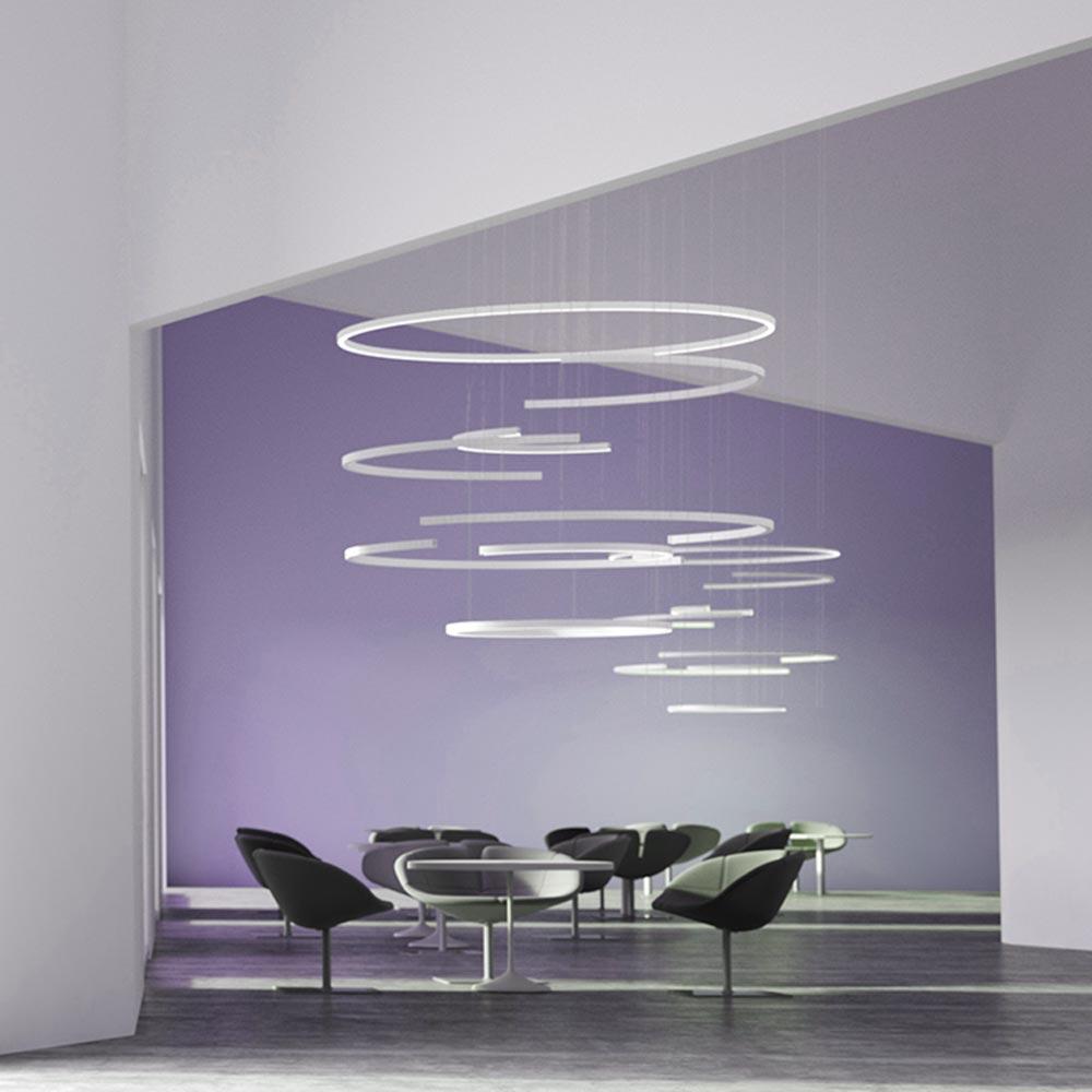 Commercial LED Modular Rings CLB-00584 Pendants