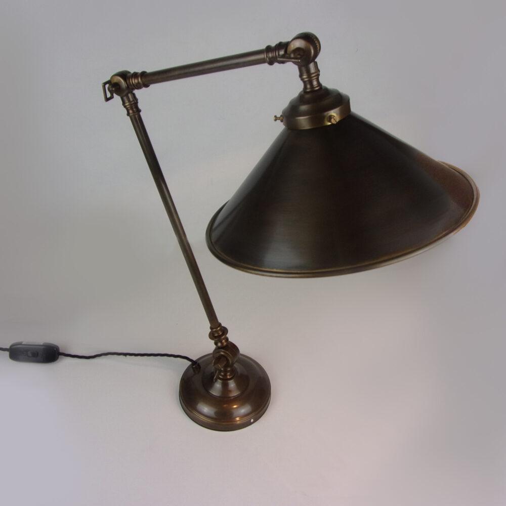 Adjustable Brass Table Lamp Lighting