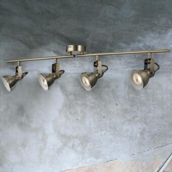 4 Light Ceiling Spotlight Bar