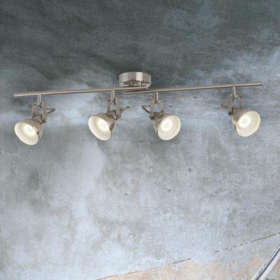 4 Light Ceiling Spotlight Bar