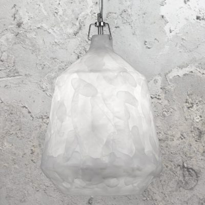 Acrylic Glacier Pendant Light