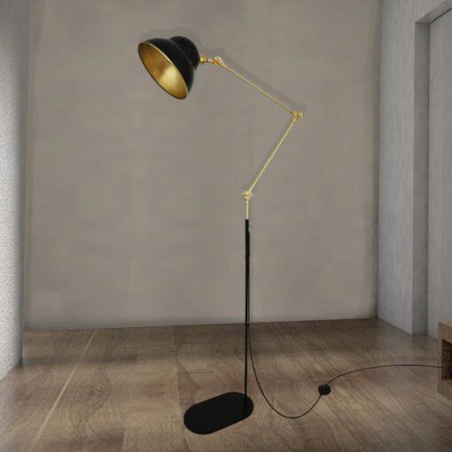 Adjustable Brass Floor Lamp,adjustable polished brass floor lamp,adjustable height brass floor lamp