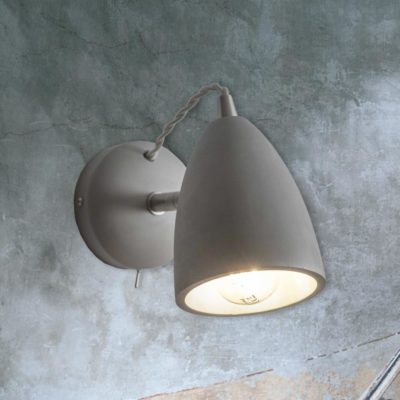 Adjustable Concrete Wall Light